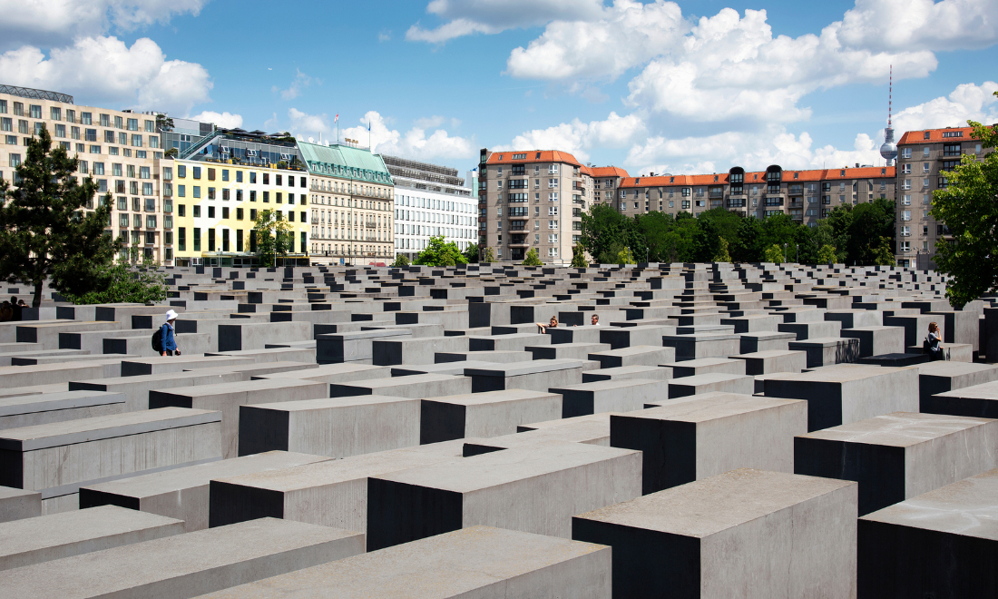 memorial to murdered jews of europe berlin germany