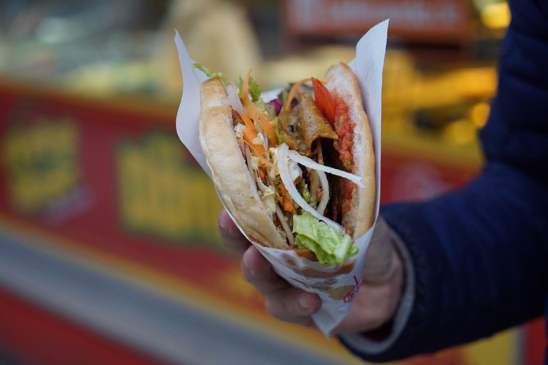 German Street Food Doner kebab
