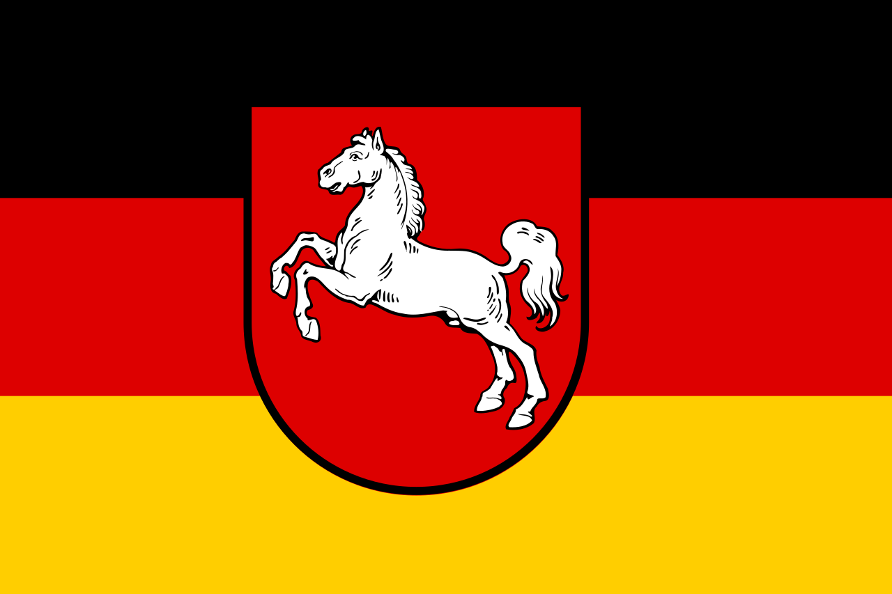 flag lower saxony