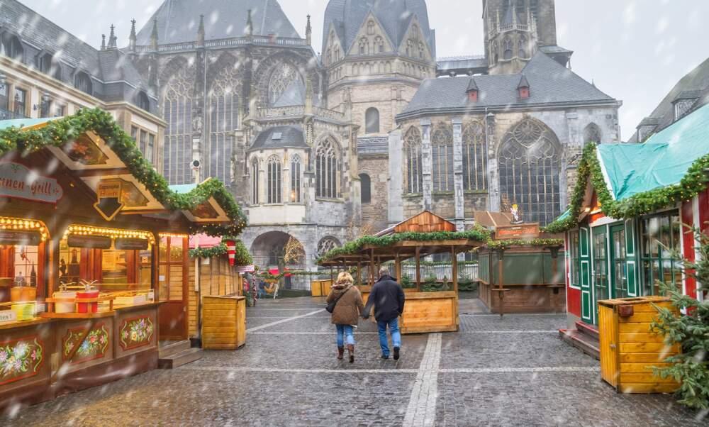 weihnachtsmarkt aachen brand 2019
