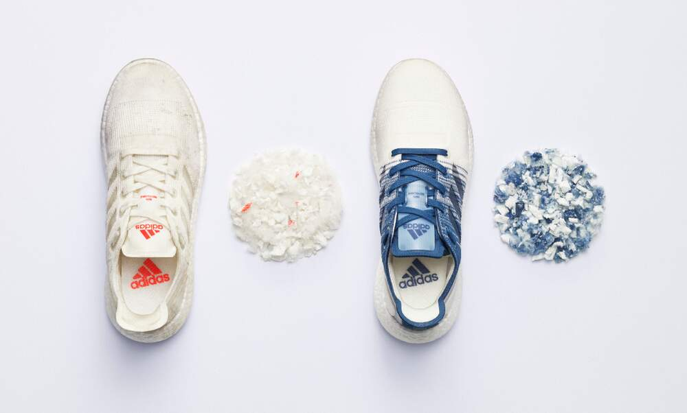 Adidas switches to recycled materials to combat plastic waste