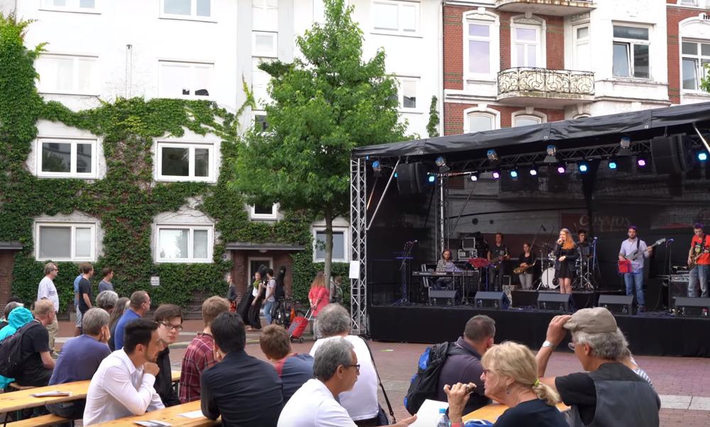Altonale street festival Hamburg