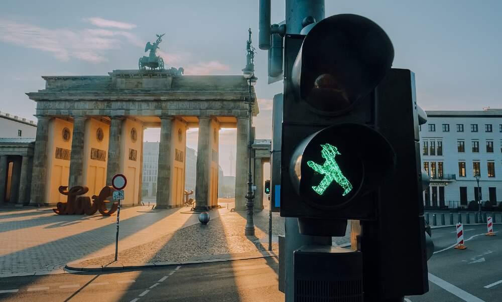 Berlin is the most pedestrian-friendly city in Germany
