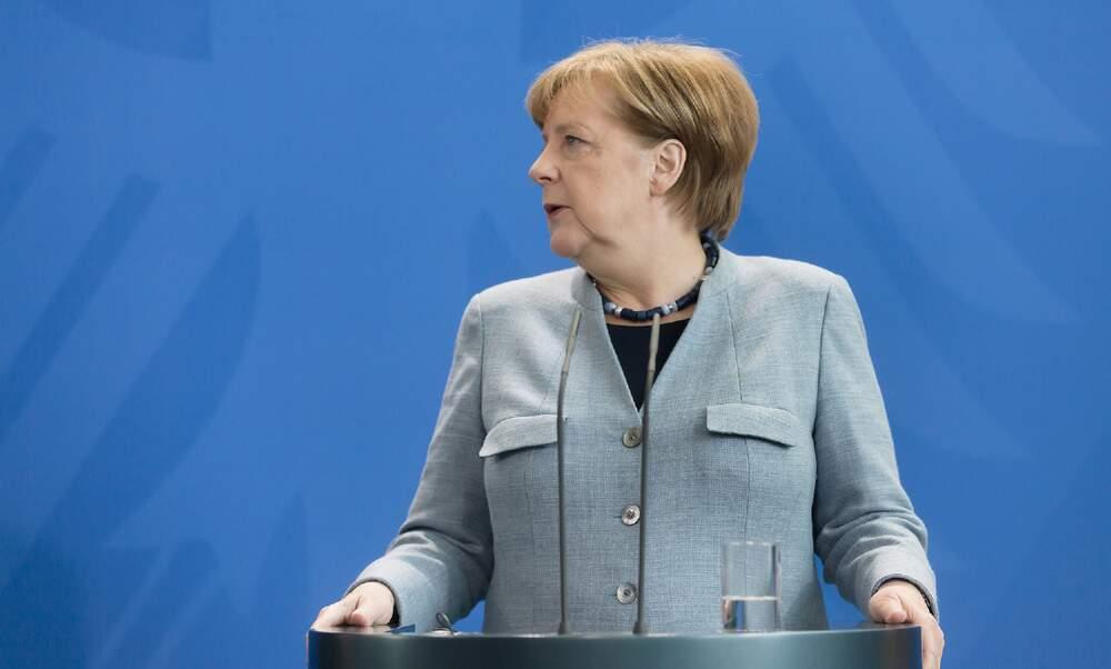 Angela Merkel receives AstraZeneca COVID-19 vaccine