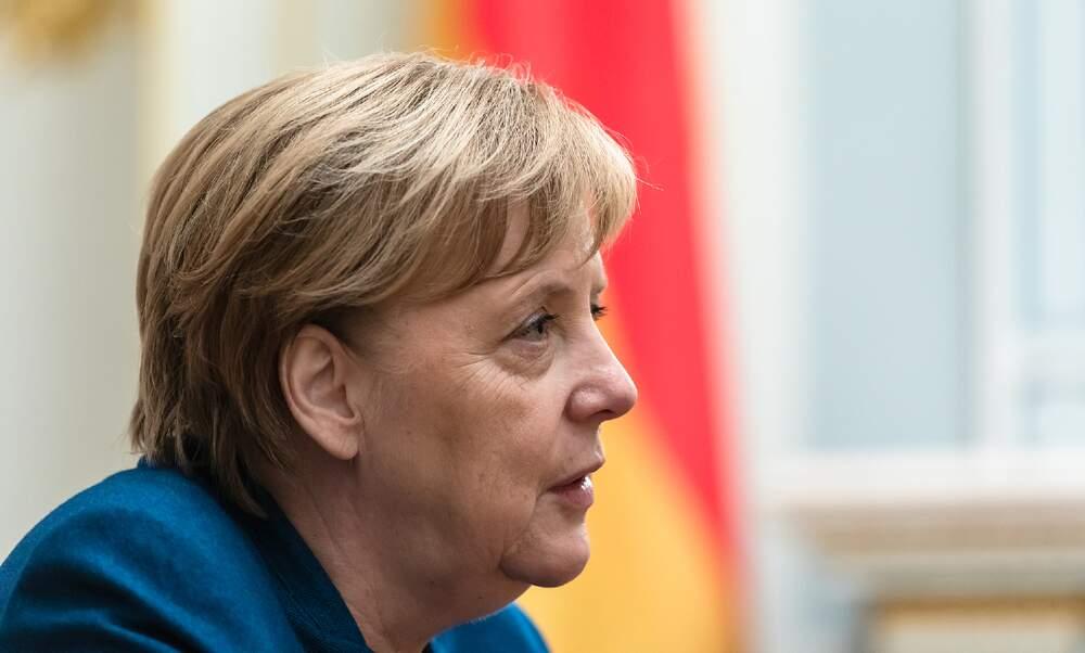 "Angela Merkel urges German population to ""stay at home"""