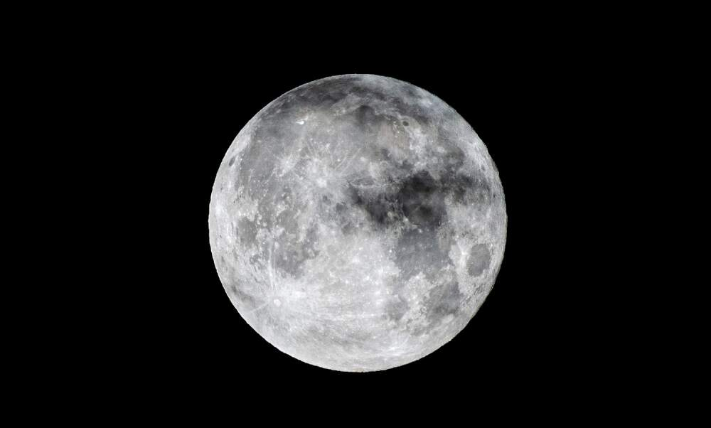 Tomorrow's moon occurs only once in a blue moon