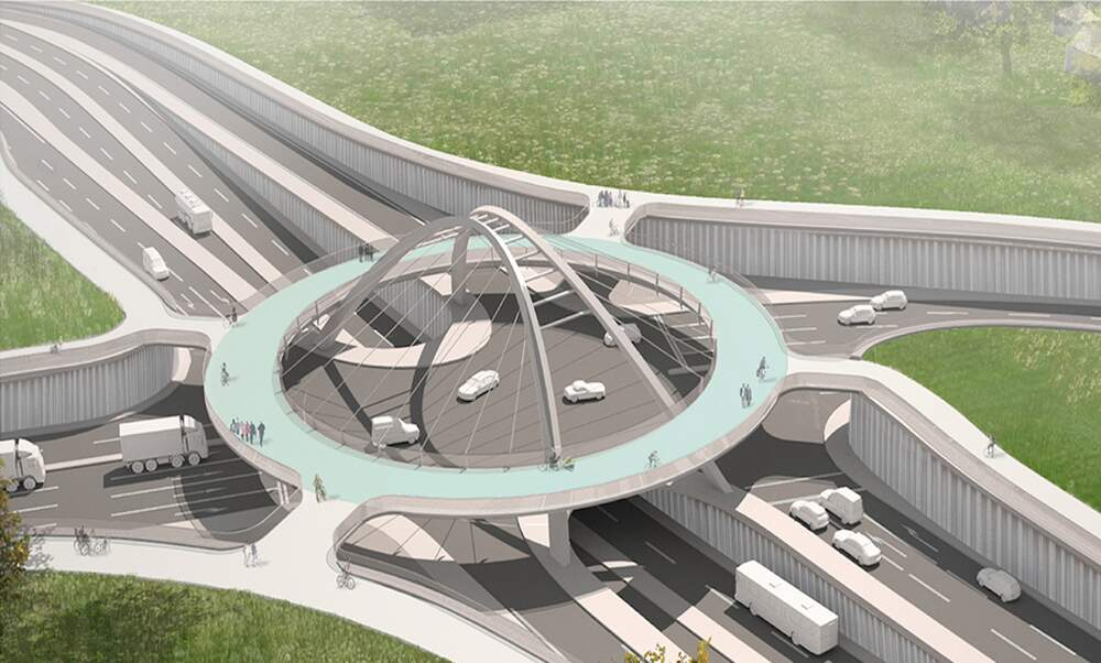 Cyclists are getting their own roundabout in Berlin