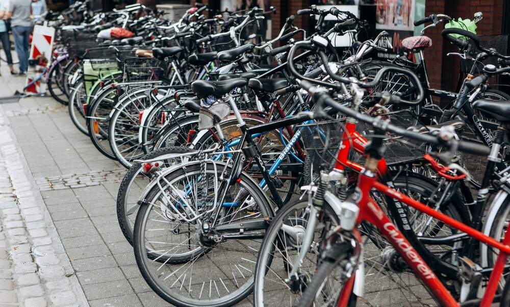 Düsseldorf considers introducing parking fees for bikes
