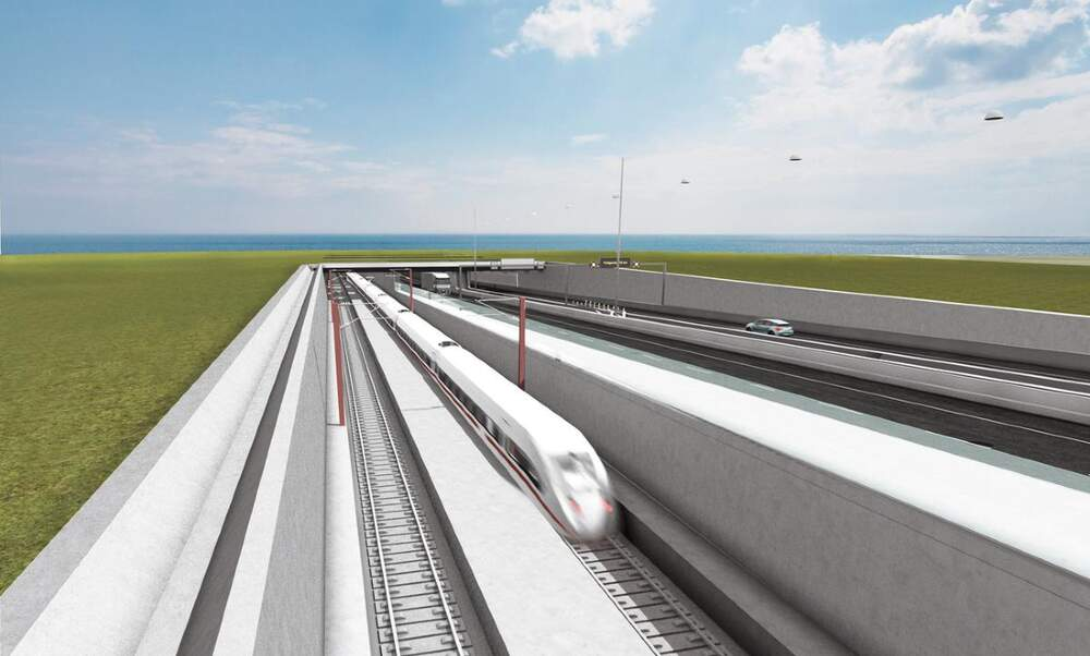 World's longest immersed tunnel to connect Germany to Denmark in 10 minutes