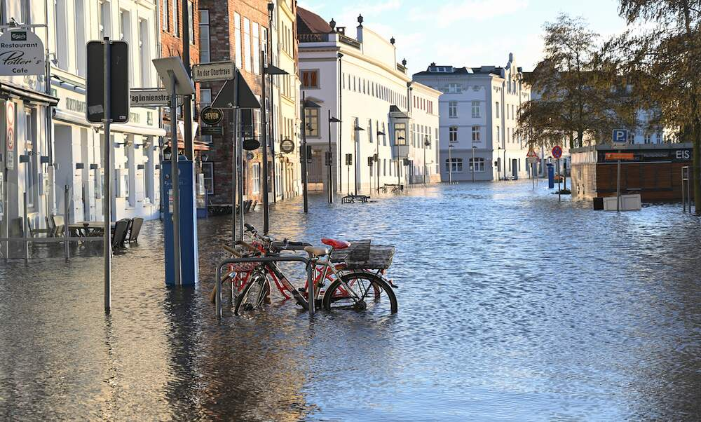 Extreme weather rampages through Germany