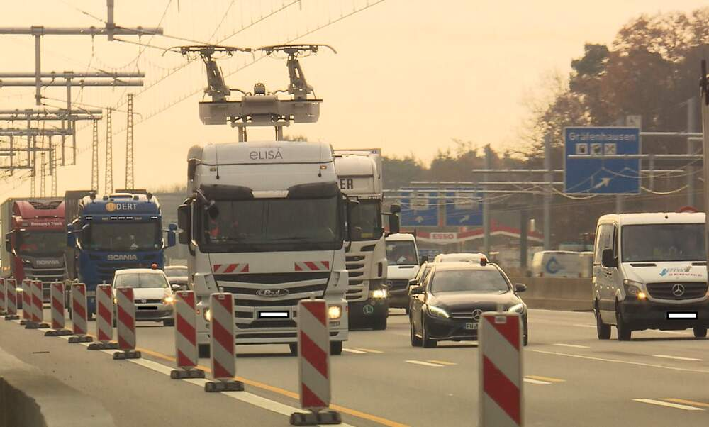 Germany's first E-highway opens