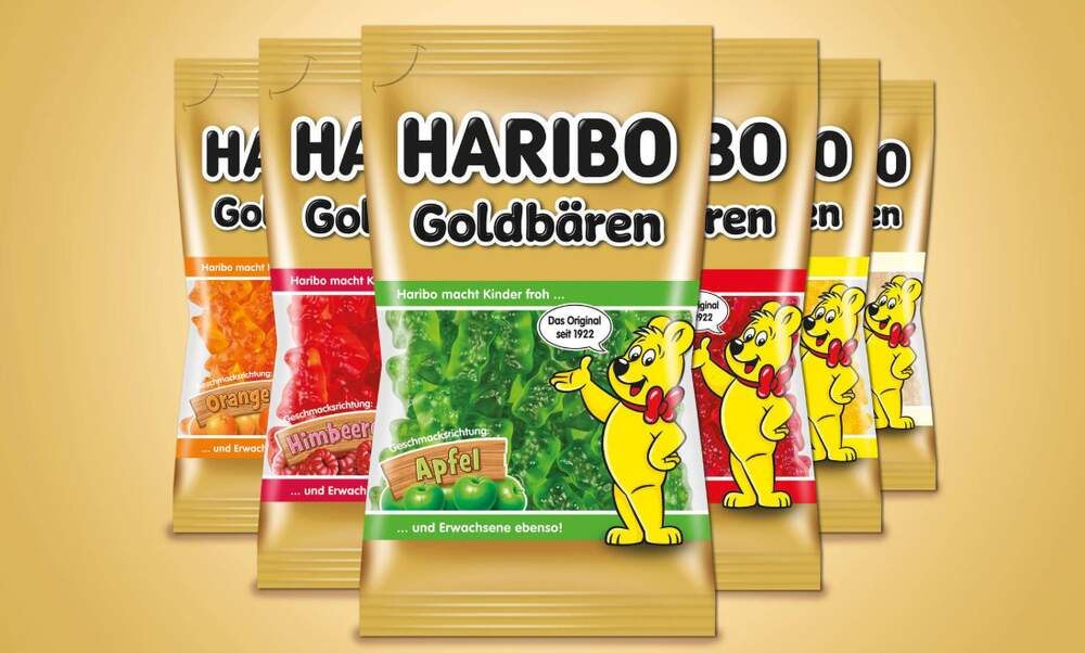 Haribo is now selling gummy bears sorted by colour