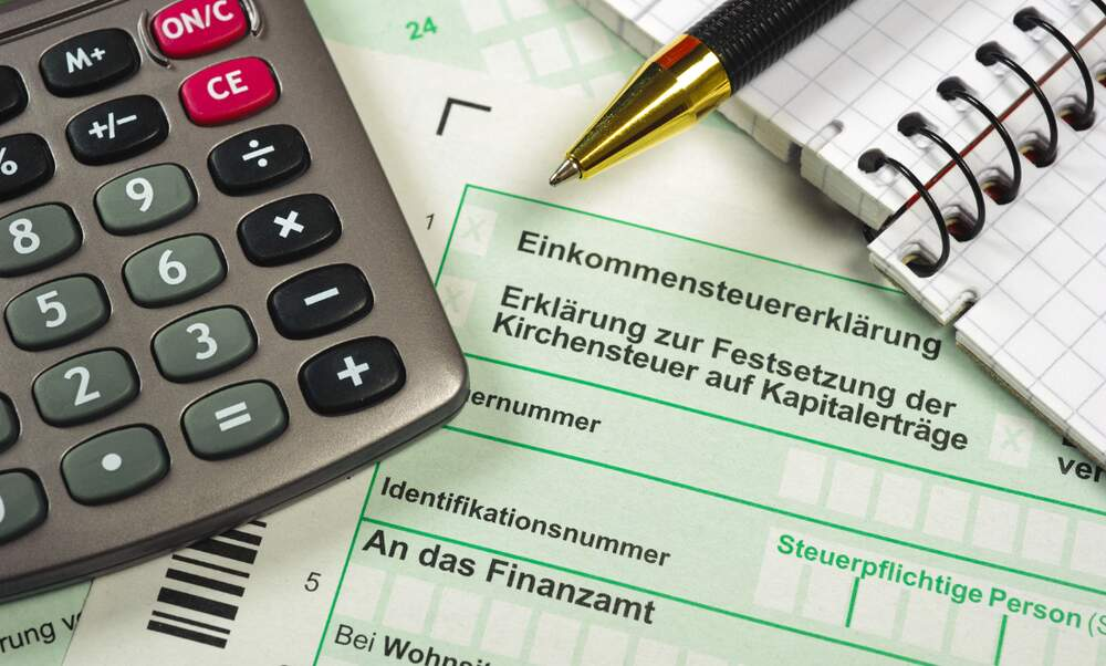 How long does it take to process a tax return in Germany?