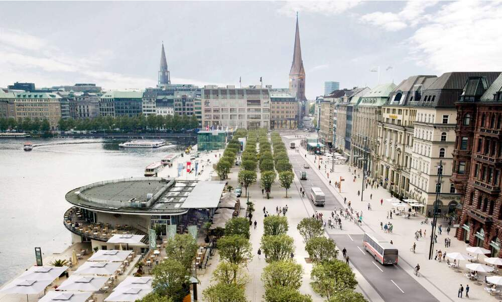 Hamburg city centre to become car-free zone by October 2020