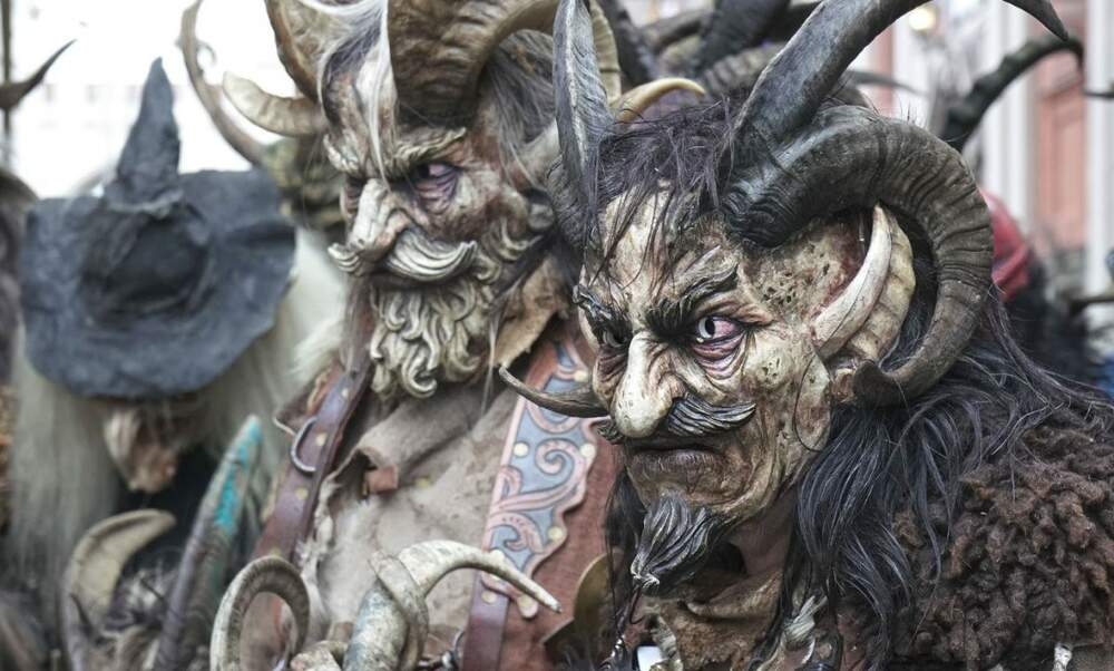 The Krampus Run of the Munich Christmas Market