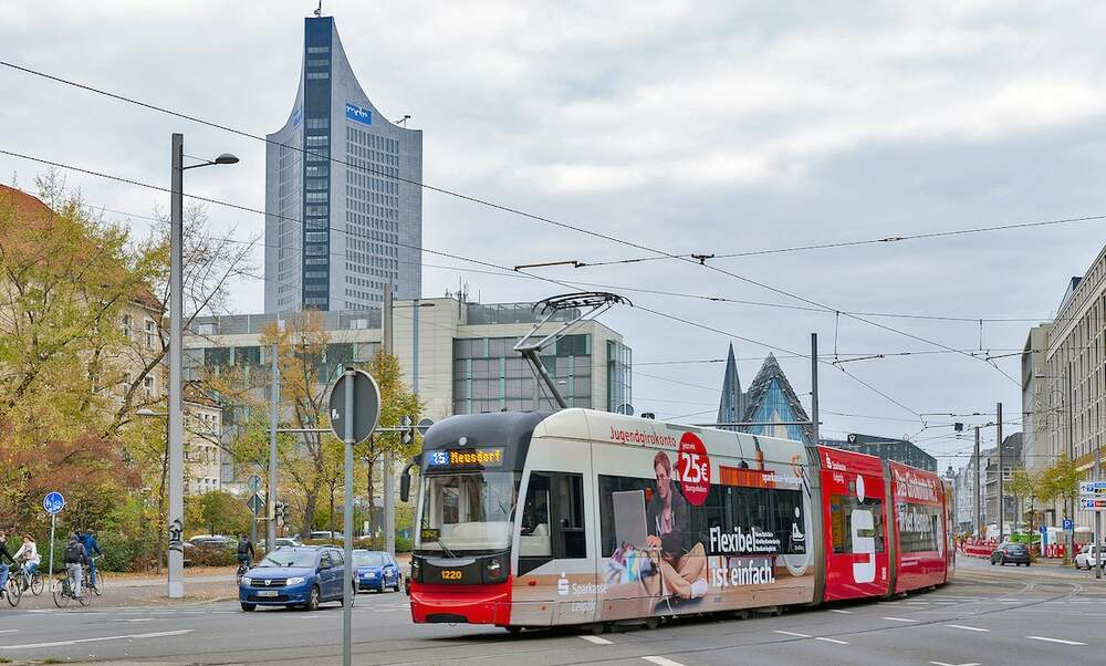 Leipzig to gradually introduce 365-euro-per-year public transport ticket