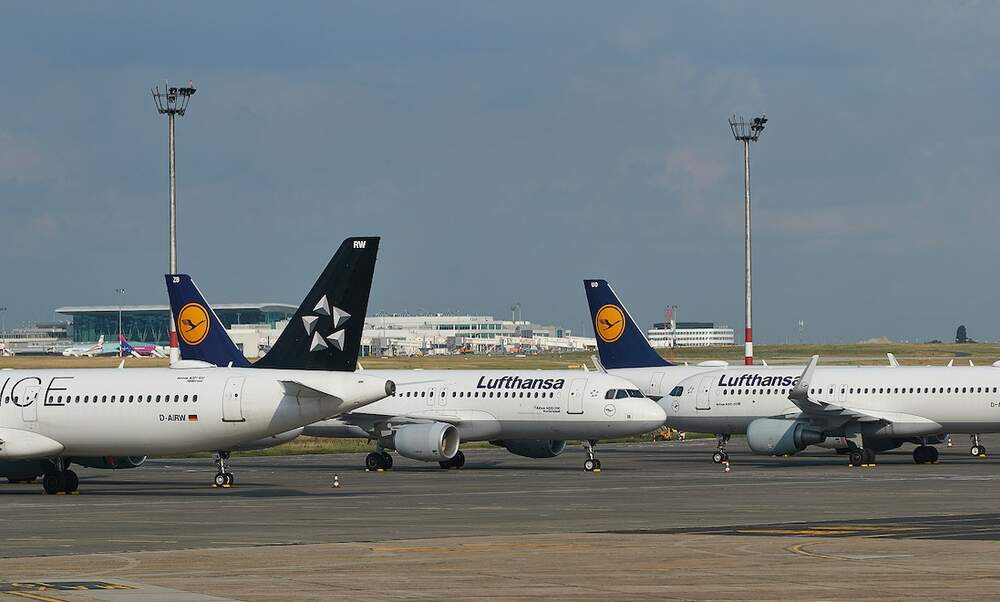 Germany records lowest air travel since reunification