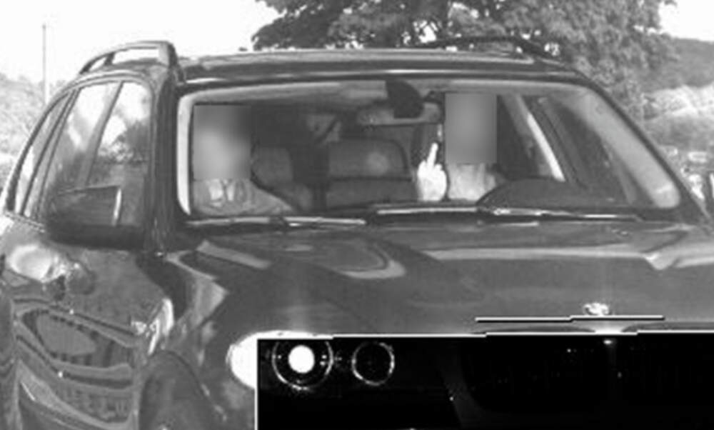 German man flips off speed camera - and gets a 75 times higher fine