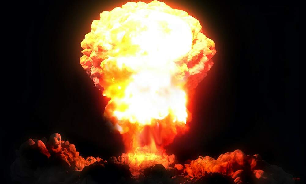 What would happen if a nuclear bomb was dropped on Germany?