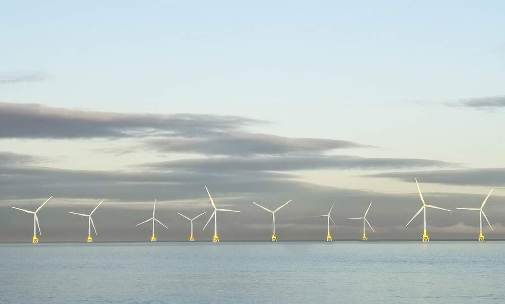 German electricity company testing floating wind turbines