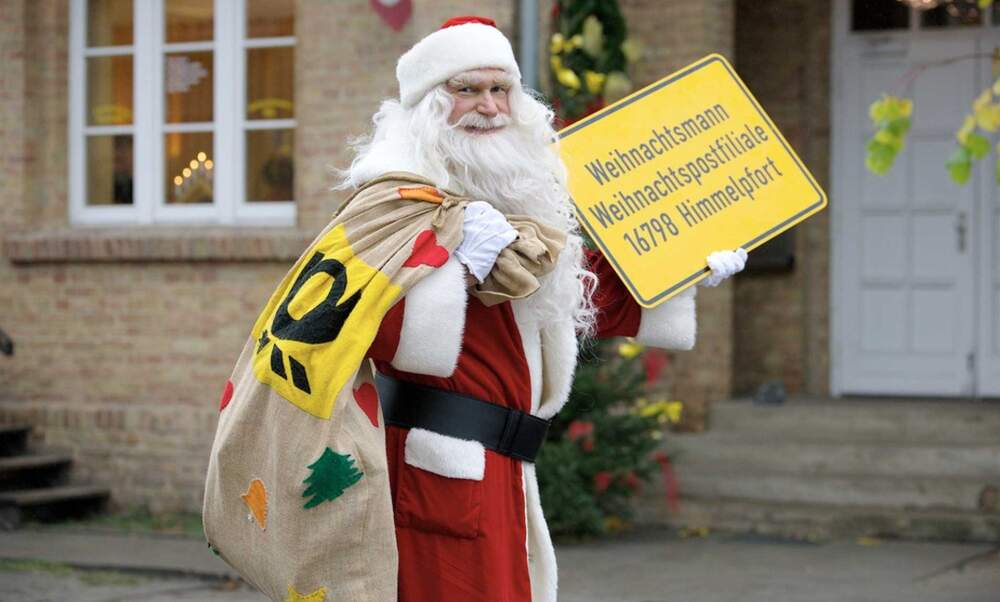 Send your Christmas letters to Santa's post office in Himmelpfort