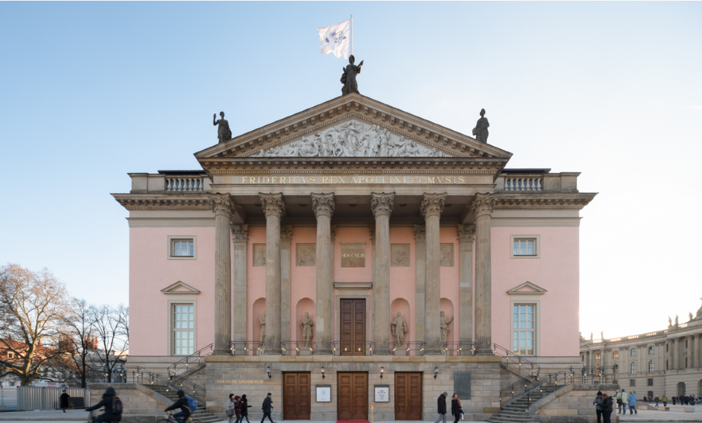 Berlin State Opera sewing face masks instead of costumes