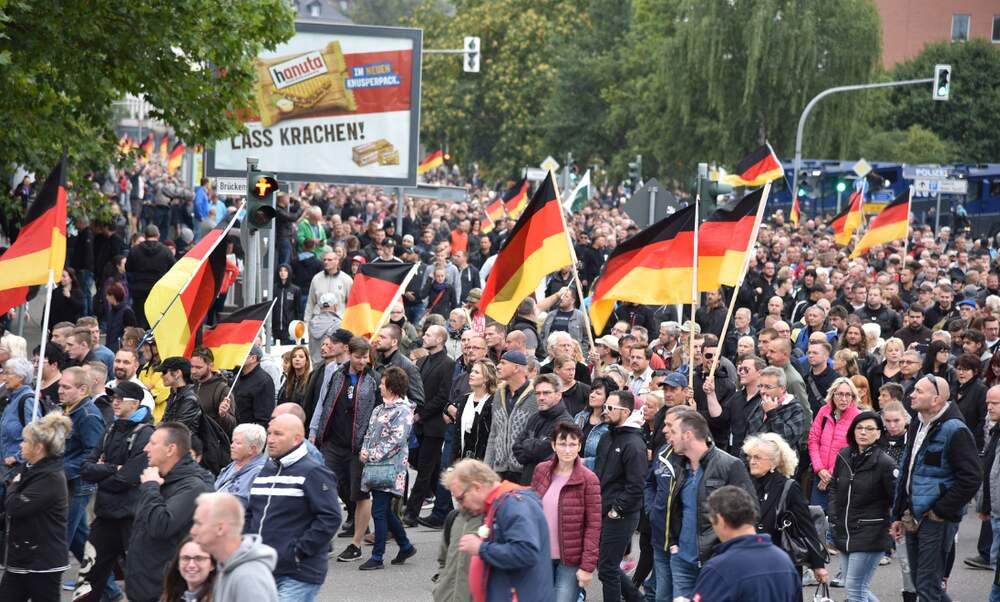 Coalitions cling on as AfD makes huge gains in Brandenburg and Saxony elections