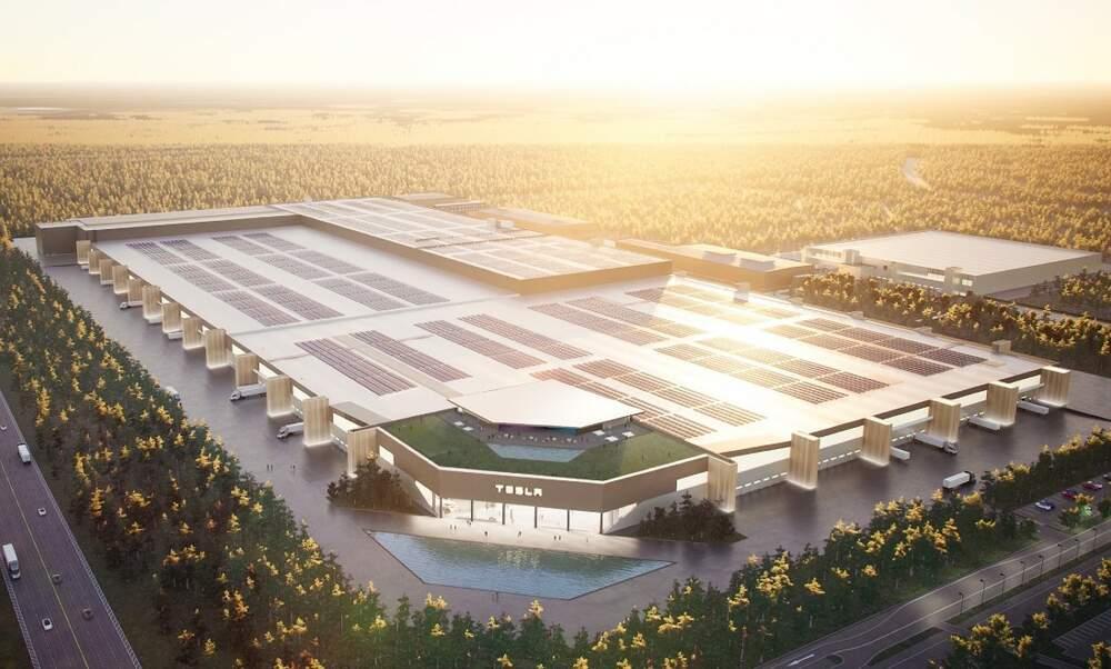 This is what Tesla's Gigafactory in Berlin will look like