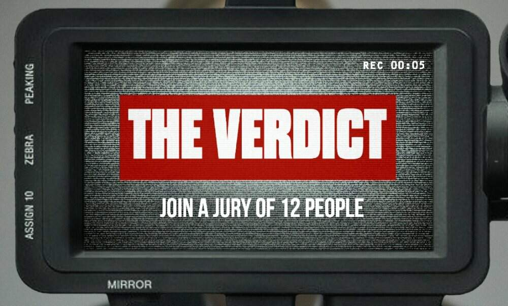 The Verdict: Join the jury in a new interactive murder mystery game