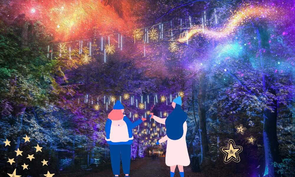 Light Festival: Christmas in Tierpark