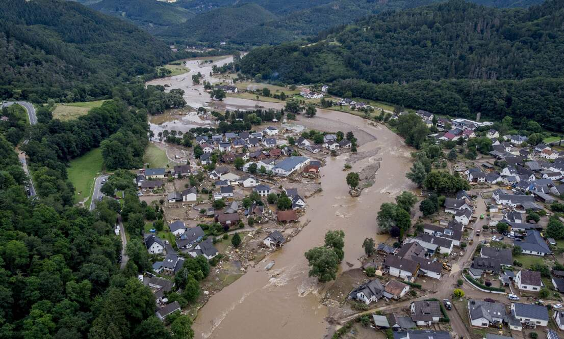 Germany floods: Death toll rises to 165 as cleanup continues