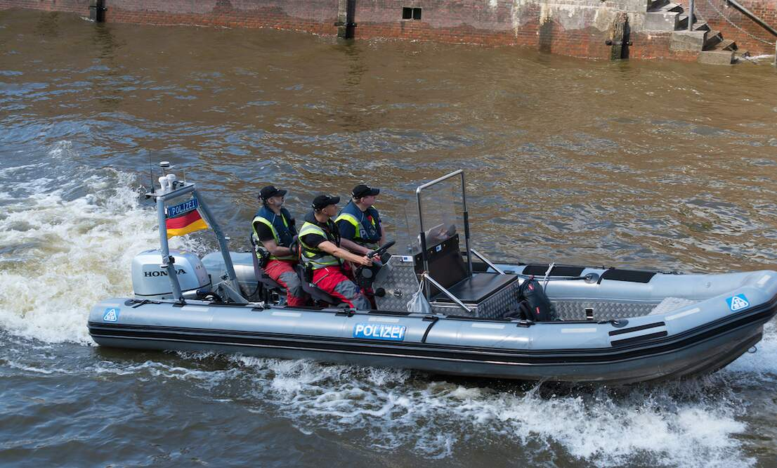 Berlin police forced to break up floating protest