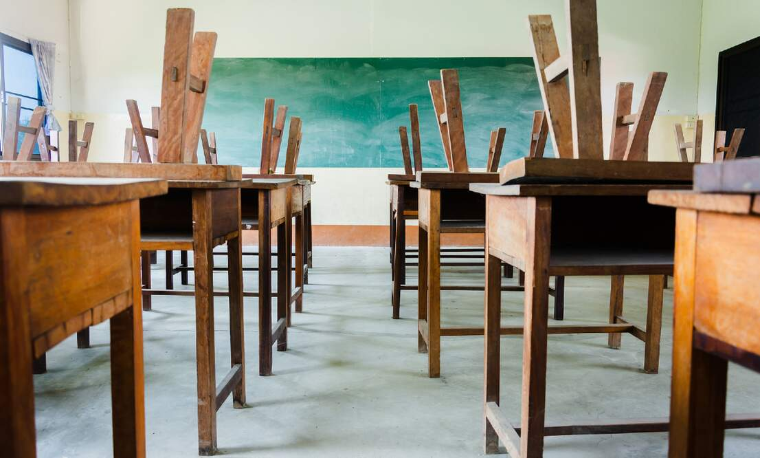 Coronavirus: Almost all schools in Germany to close next week