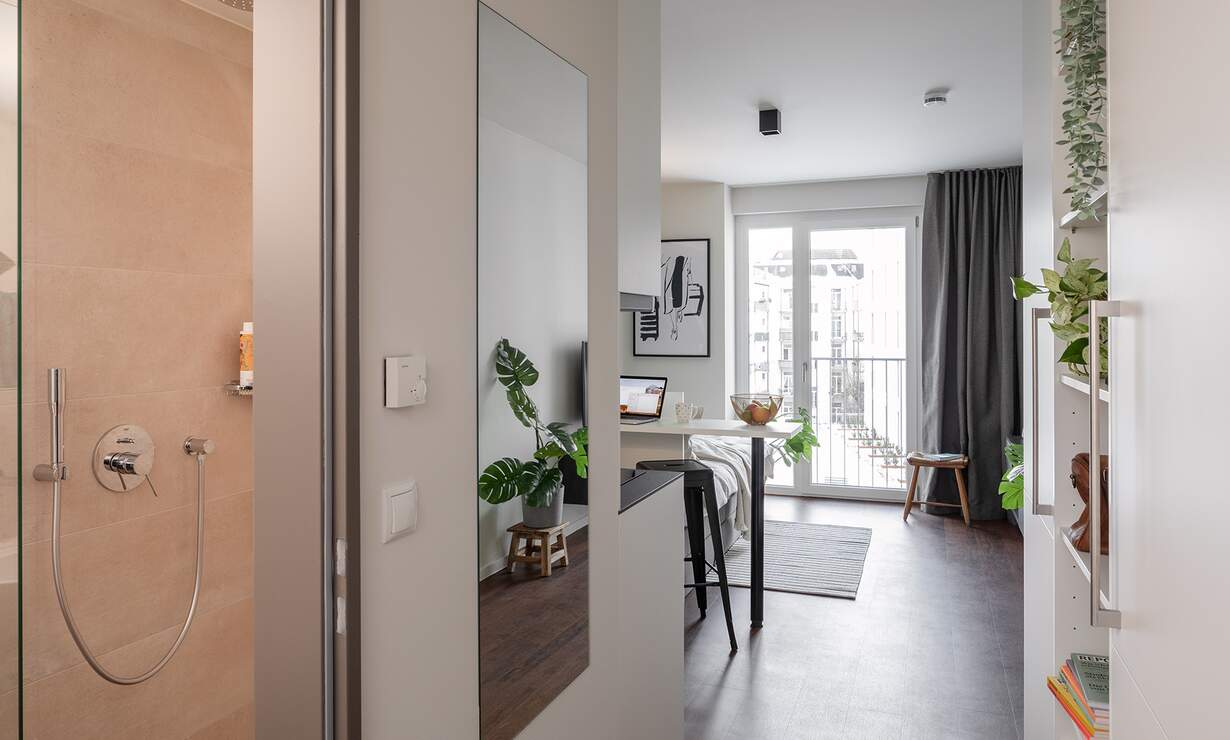 *HVNS* Modern and fully furnished Studio, Gym, Concierge, Co-Working Space - Upload photos 4