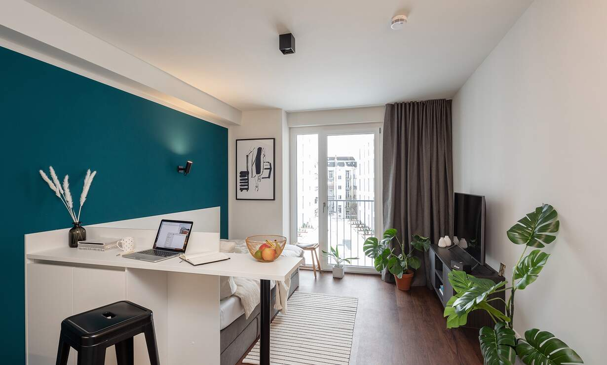 *HVNS* Modern and fully furnished Studio, Gym, Concierge, Co-Working Space - Upload photos 2
