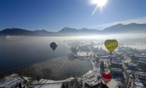 Tegernsee Valley Montgolfiade - Hot Air Balloon Festival