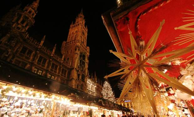 Traditional Christmas Market in Munich