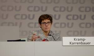 Annegret Kramp-Karrenbauer will not stand for chancellor