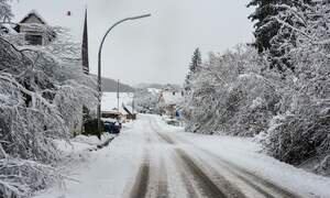 Extreme winter weather could become more common in Germany