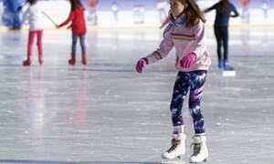 Ice skating in Hamburg's EisArena