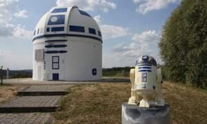 German professor gives observatory Star Wars makeover