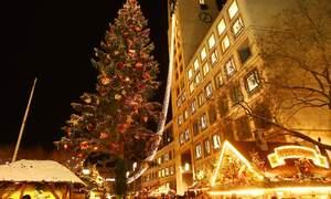 Christmas Market Town in Stuttgart