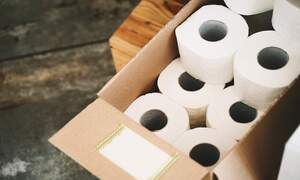 "Fury at German entrepreneur's ""free toilet paper"" pizza promotion"