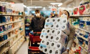 Pre-lockdown toilet paper sales up 139 percent