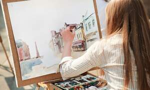 Improve your artistic talents from the comfort of home