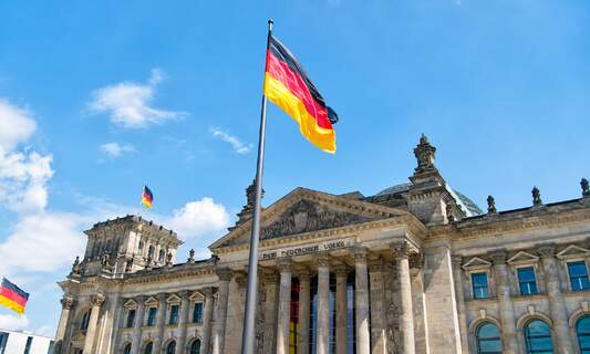 Government rejects idea of distributing German flags to schoolchildren