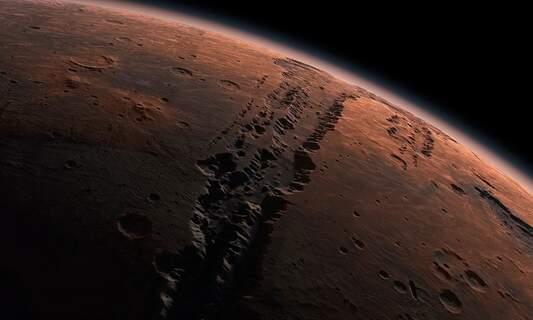 Mars clearly visible from Germany throughout October