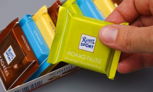 Chocolate wars: Ritter Sport and Milka fight over who owns the square