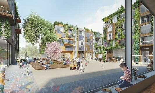 Affordable and sustainable housing project planned for former Tegel airport site