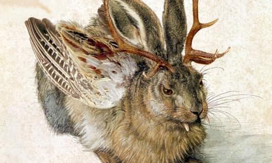 German folklore: The Wolpertinger
